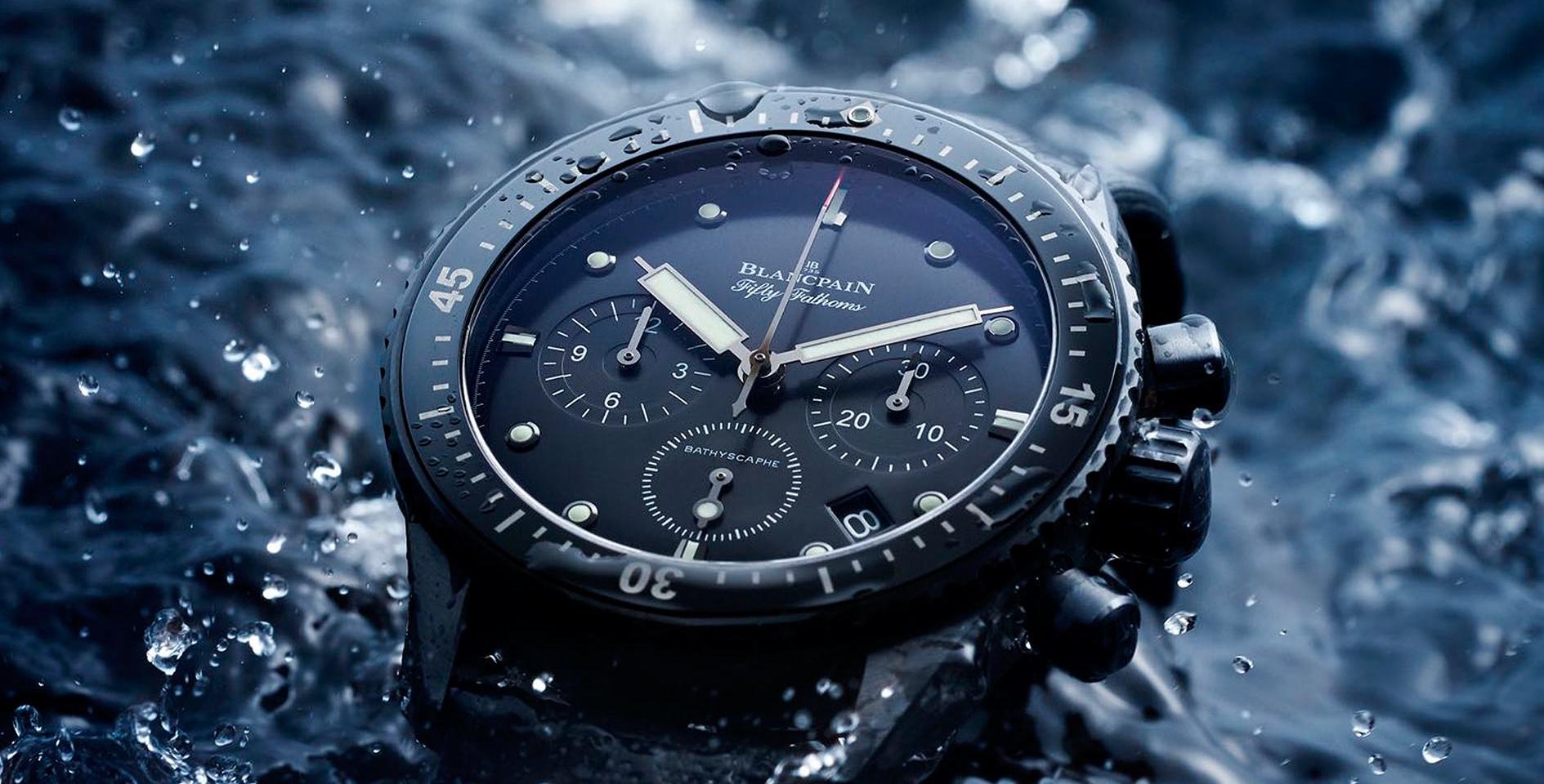 Tipps zum Umgang mit Uhren in Wassernähe