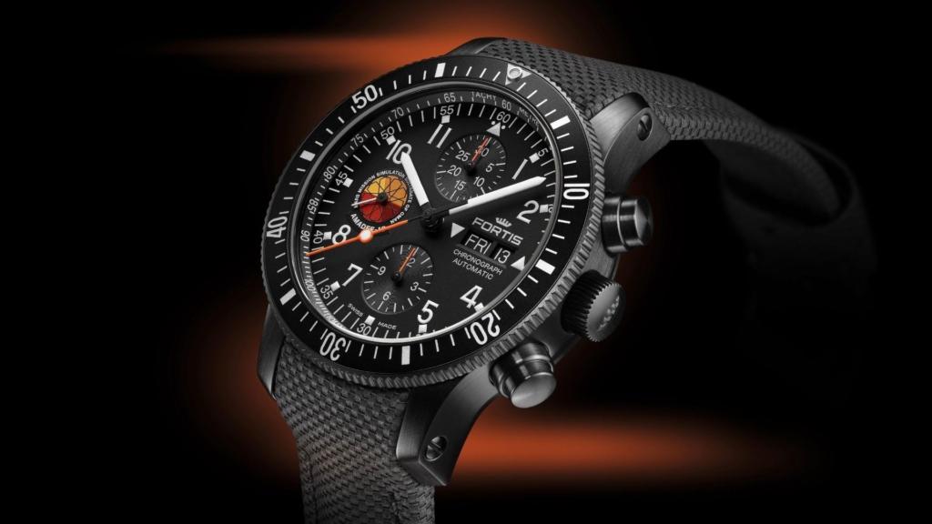 Chronographe officiel des cosmonautes Fortis Amadee-18