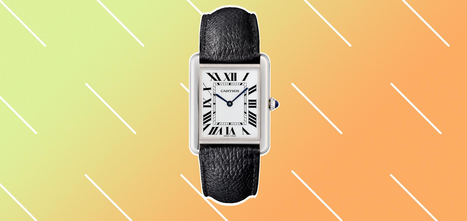 Uhren-Ikone par excellence: Die Cartier Tank im Portrait