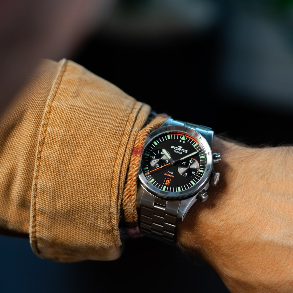 Fortis Flieger F-43 Bicompax Chronograph