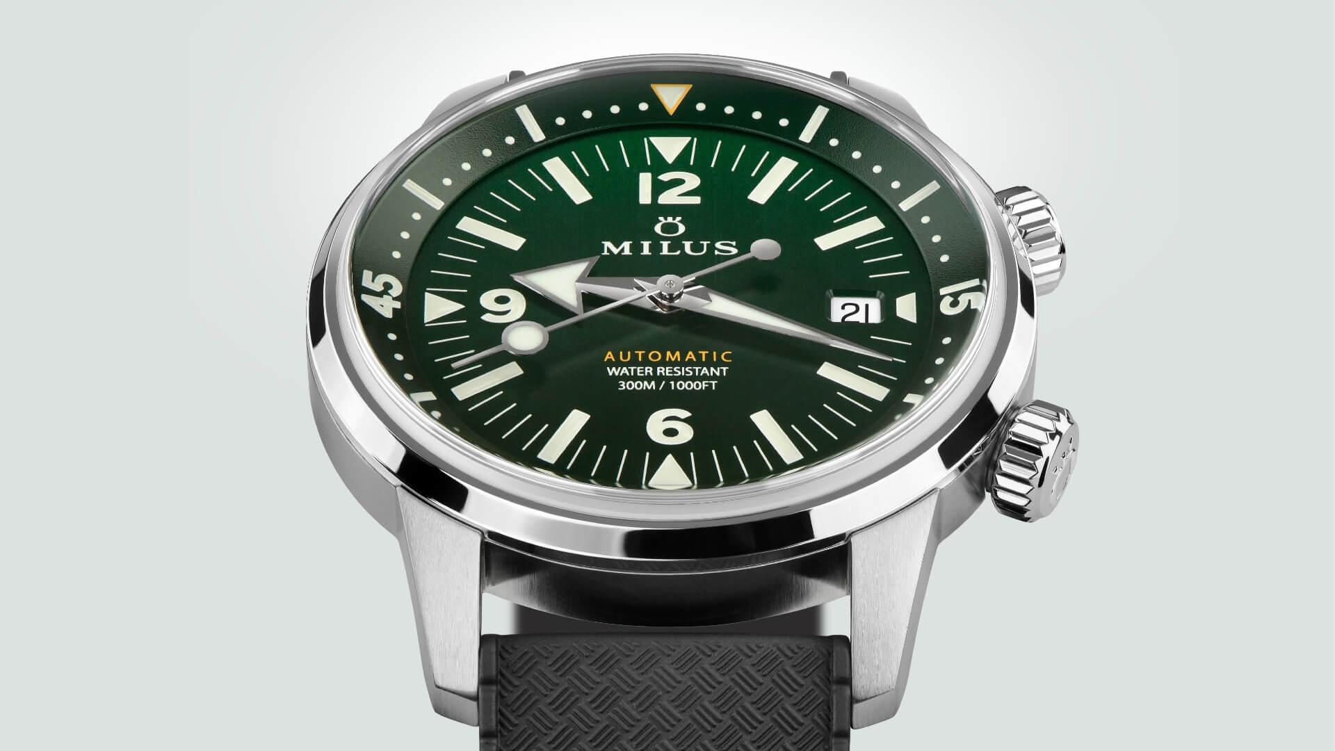 Milus Archimèdes Wild Green