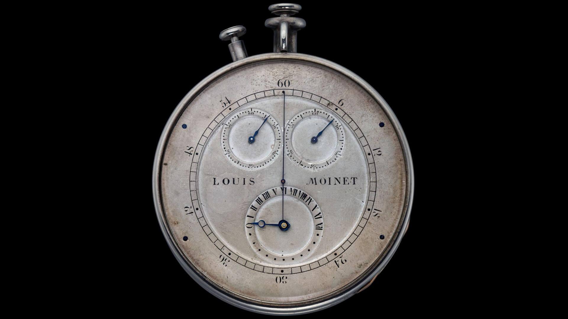 30 Hz: Louis Moinet Chronograph