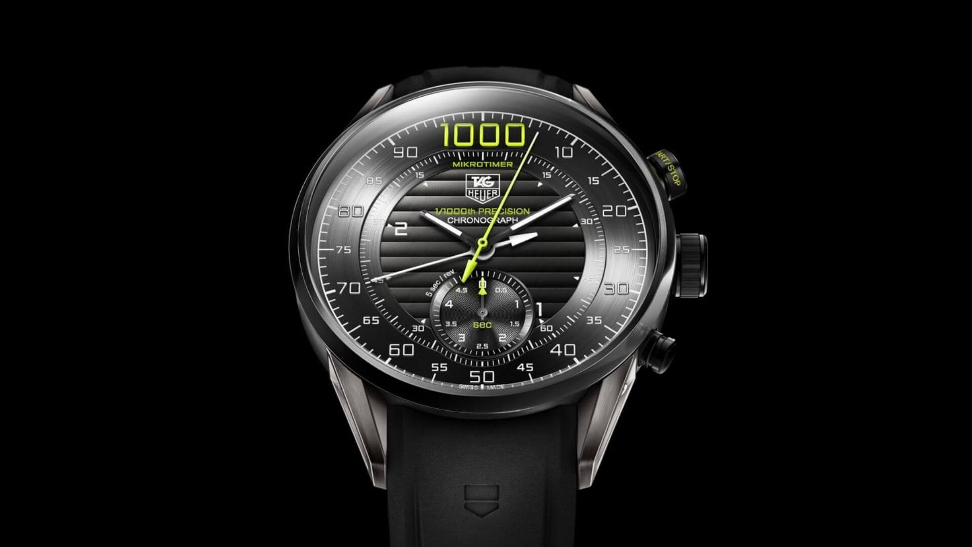 500 Hz: TAG Heuer Carrera Mikrotimer Flying 1000