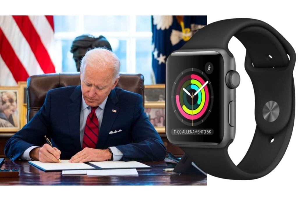 Joe Biden Apple Watch