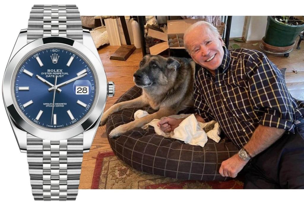 Joe Biden Rolex Datejust