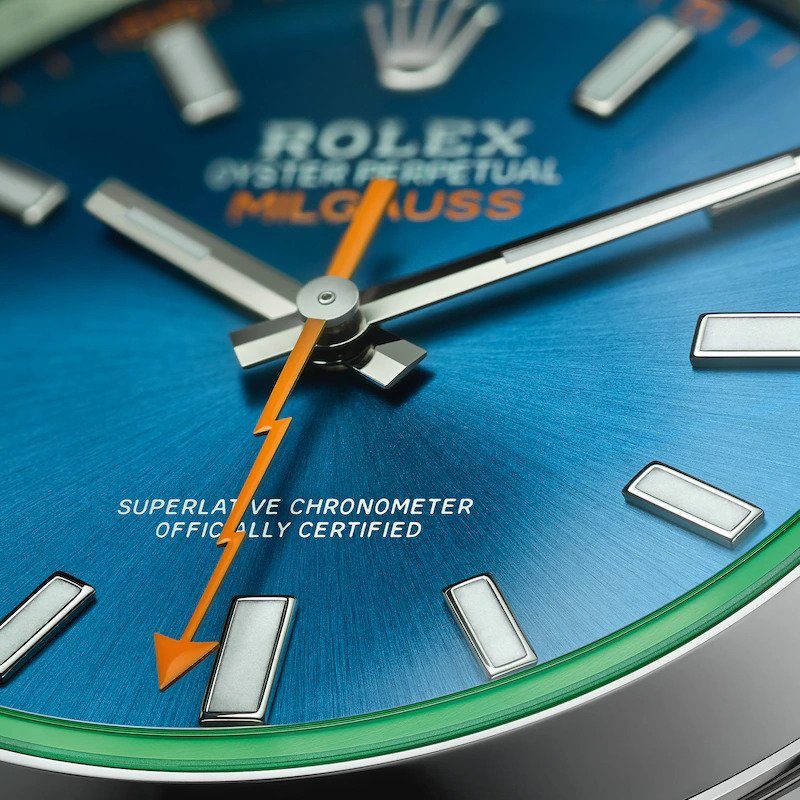 Rolex Milgauss Second Hand