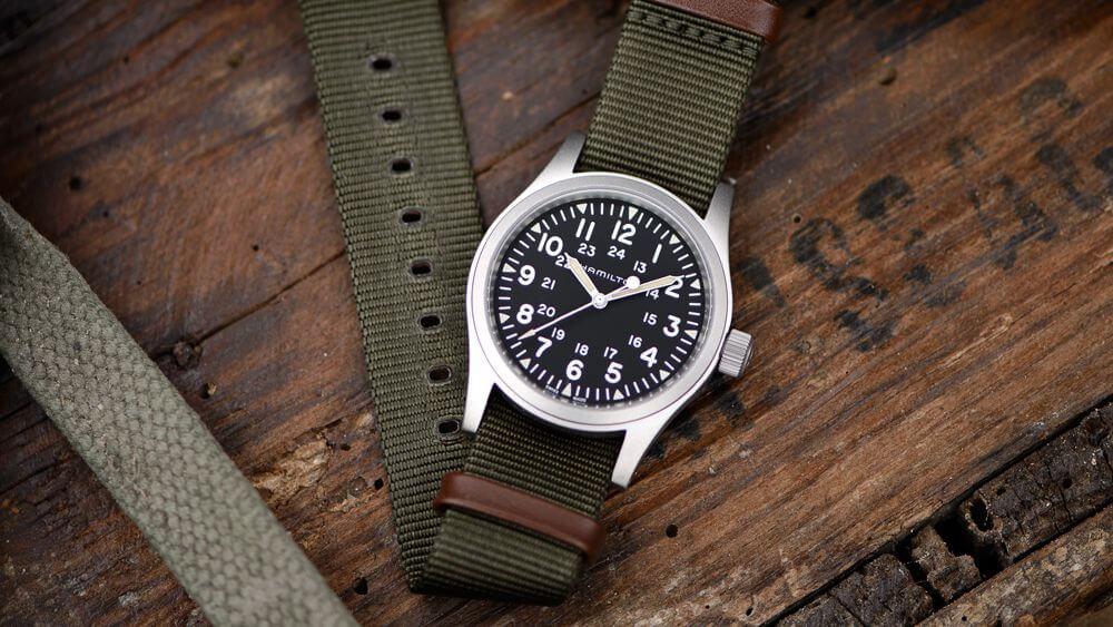 Hamilton Khaki Field Mechanical Watch (Ref. H69439931), 370,00 €