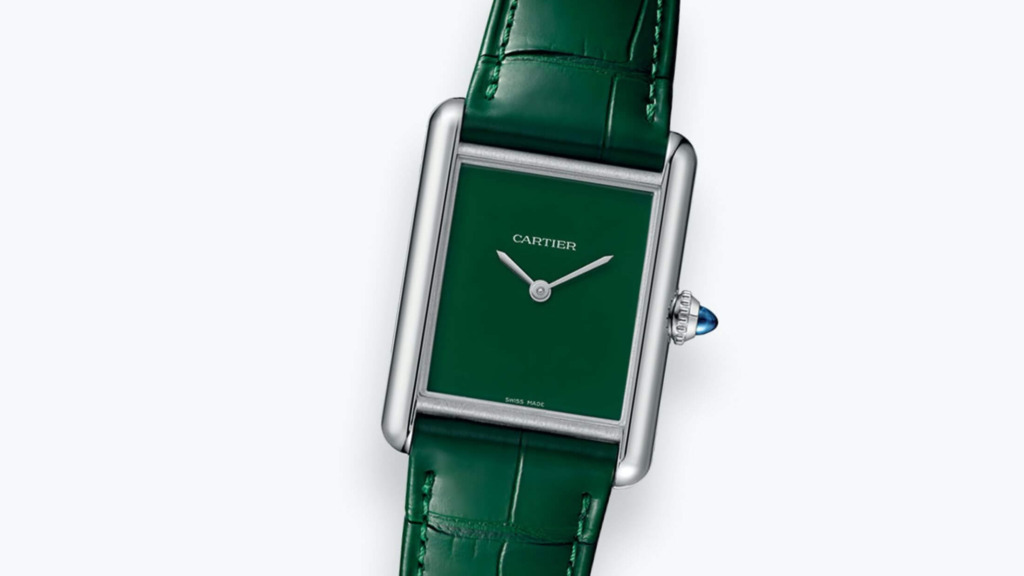 Cartier Tank Must Green