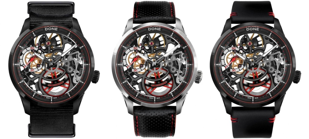 DONE Watches Mechanica Skeleton