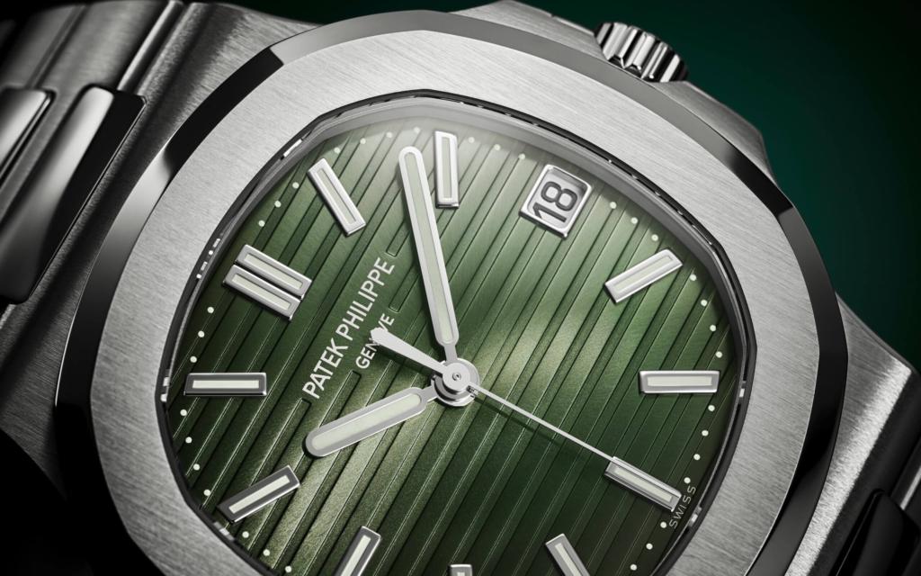 Grüne Patek Philippe Nautilus 5711-1A-014