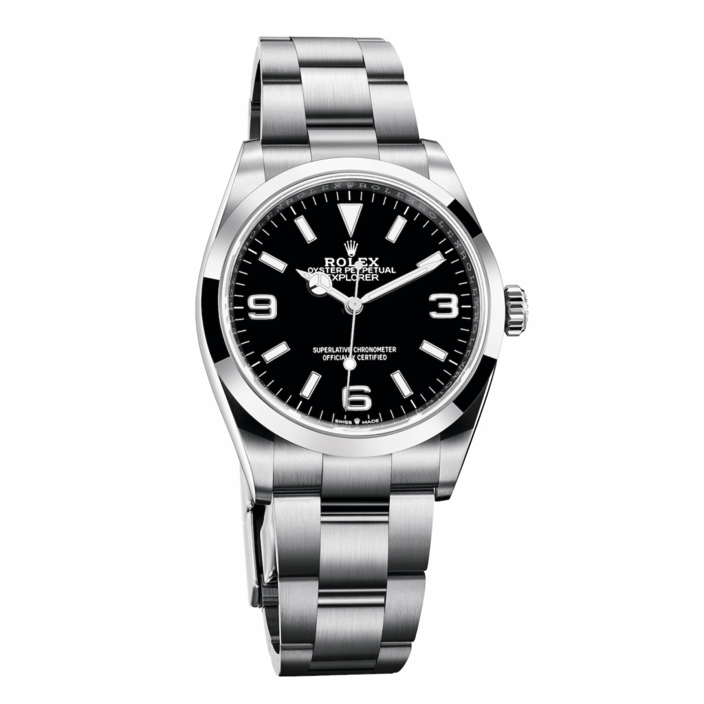 Rolex Explorer 36mm Reference 124270