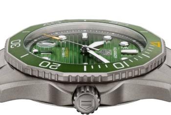 Grün ist das neue Blau: Die 5 besten Uhren-Neuvorstellungen mit grünem Zifferblatt
