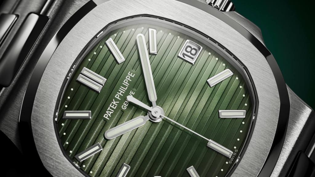 Watches & Wonders 2021 Patek Philippe Nautilus 5711 Olivegreen