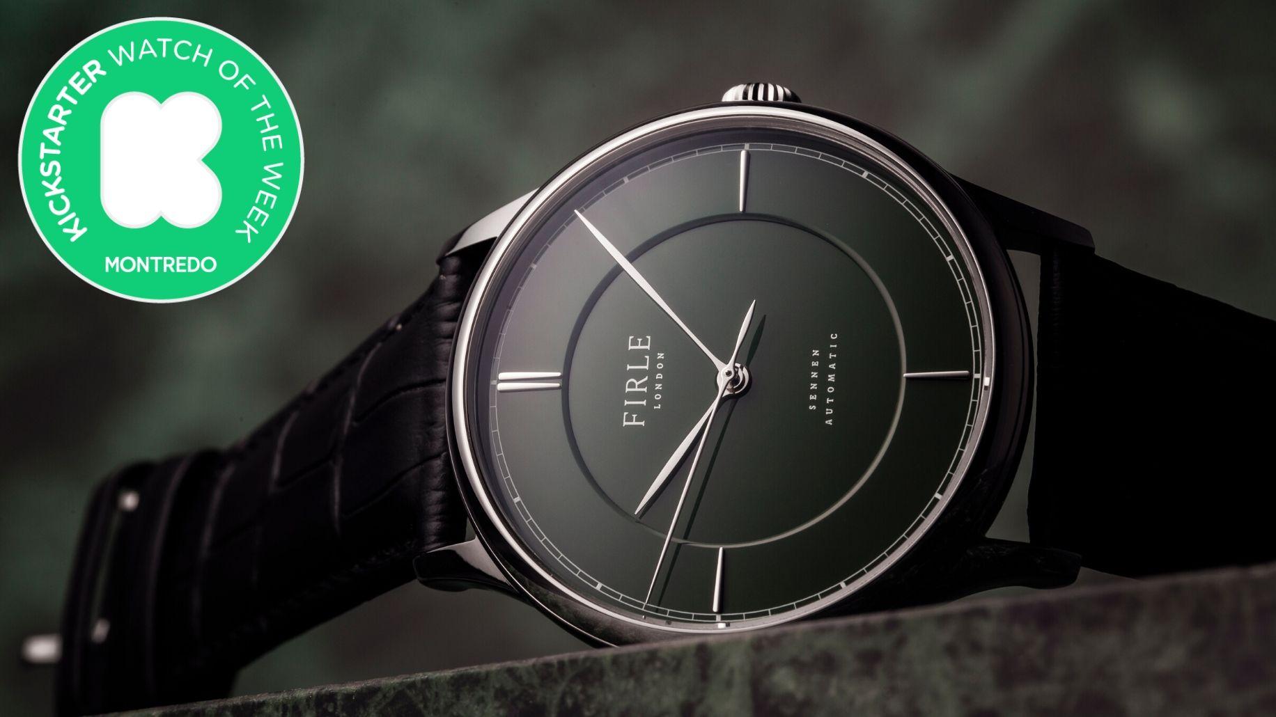 Kickstarter Watch of the Week: Firle Watches et sa Sennen Automatic