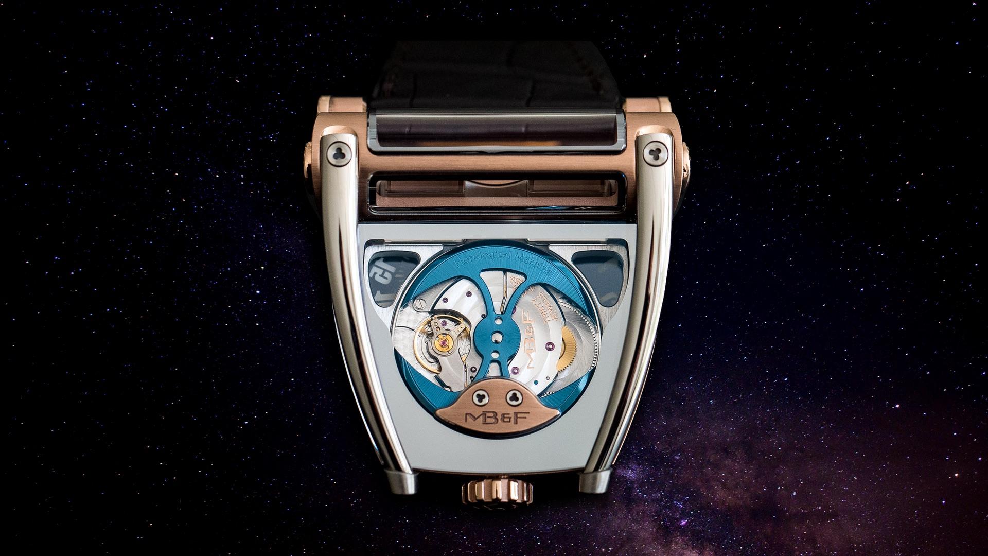 Montres MB&F: Machines temporelles au lieu de montres-bracelets (vidéo)