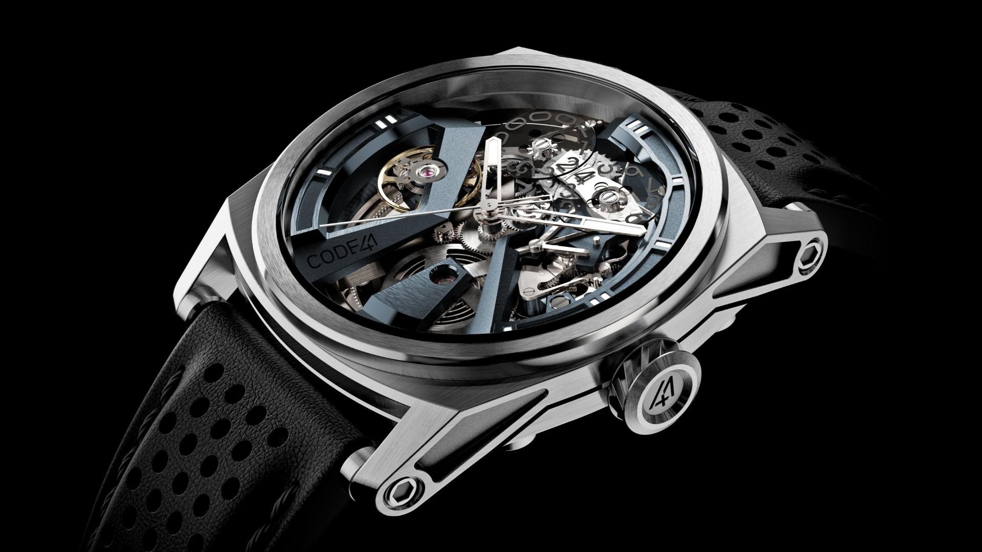 Les montres CODE41 – Haute Horlogerie pour tous?