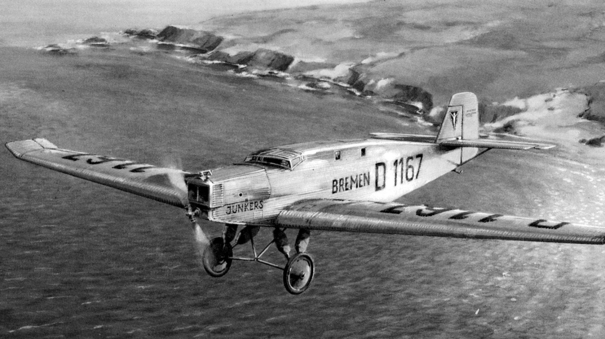 L'hommage d'Askania au premier vol transatlantique d'Est en Ouest : La collection de Brême