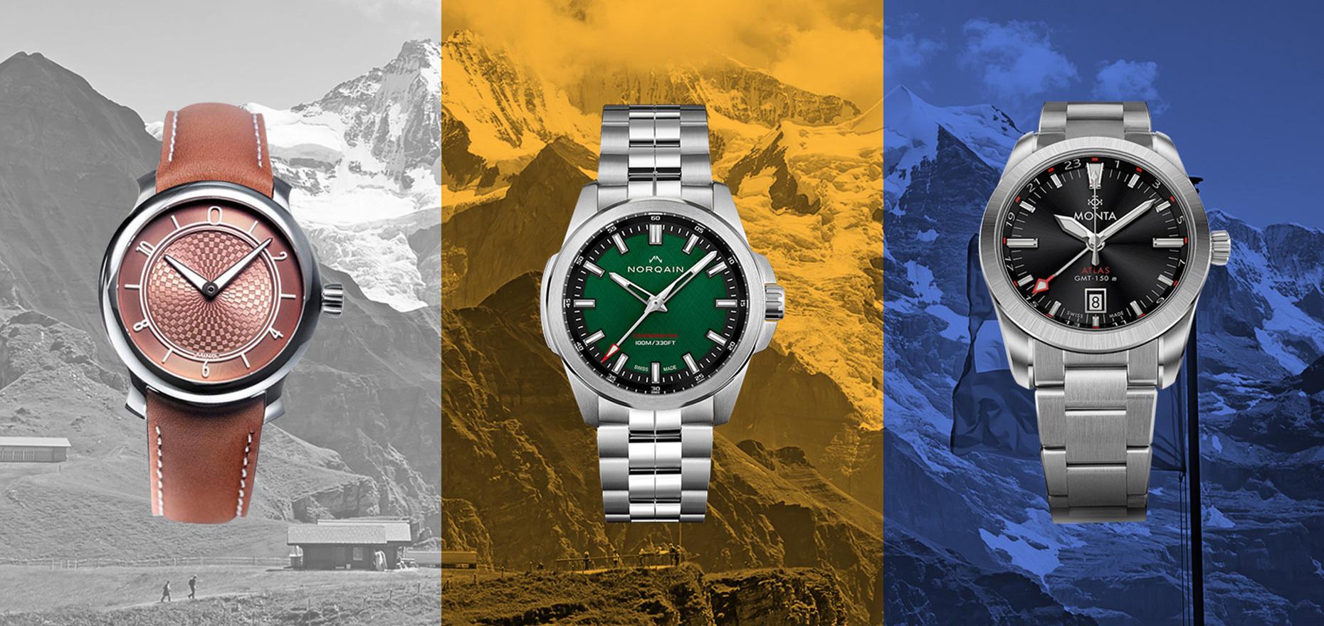 Succès instantanés : Les marques de montres à succès qui ont été fondées au cours des 5 dernières années
