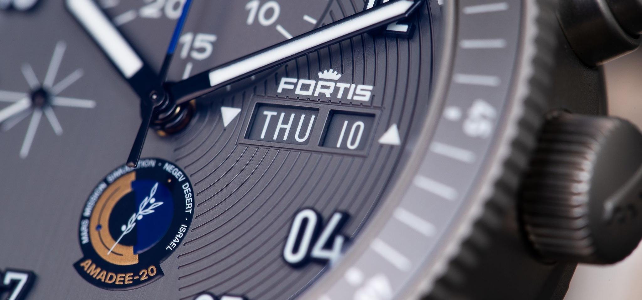 Pourquoi le chronographe officiel des cosmonautes AMADEE-20 de Fortis est la montre parfaite pour les futurs habitants de Mars.