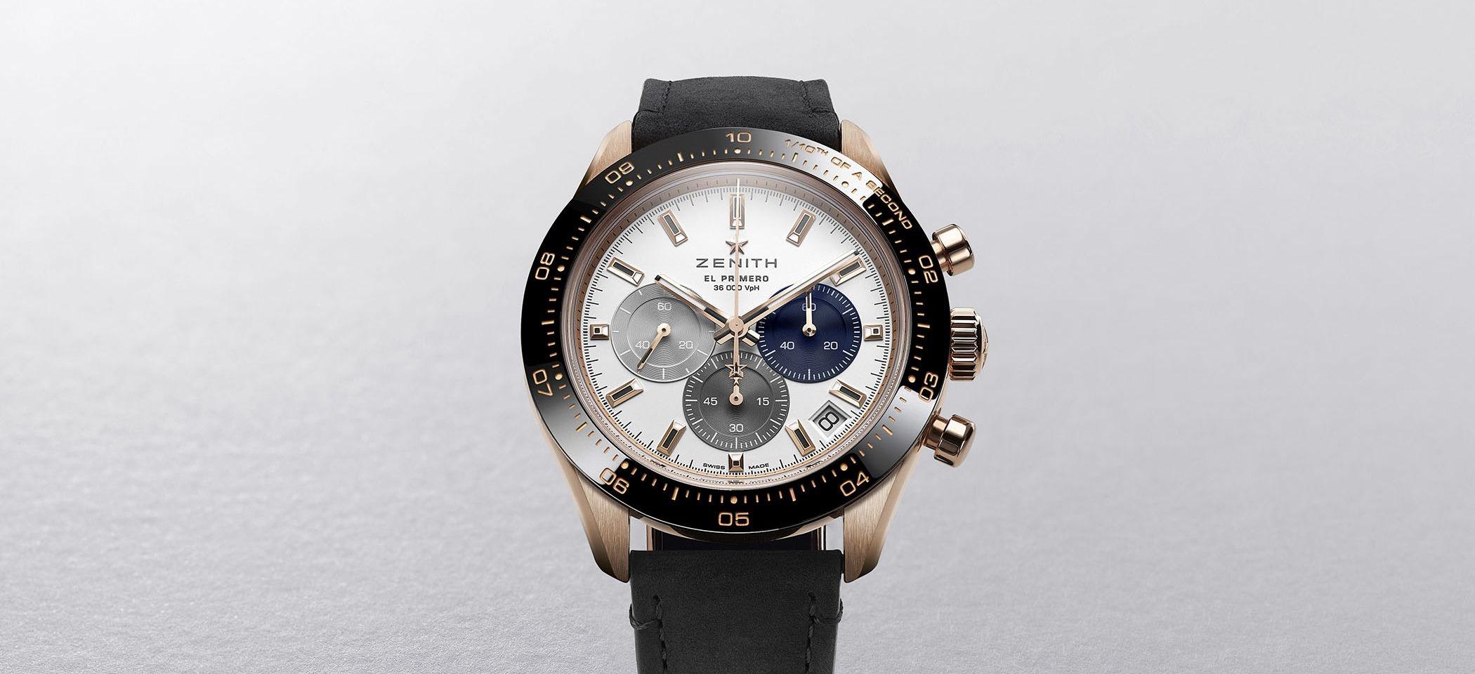 Zenith Chronomaster Sport Or Rose: Le chronographe de Zenith fait fureur dans un nouveau boîtier en or lustré