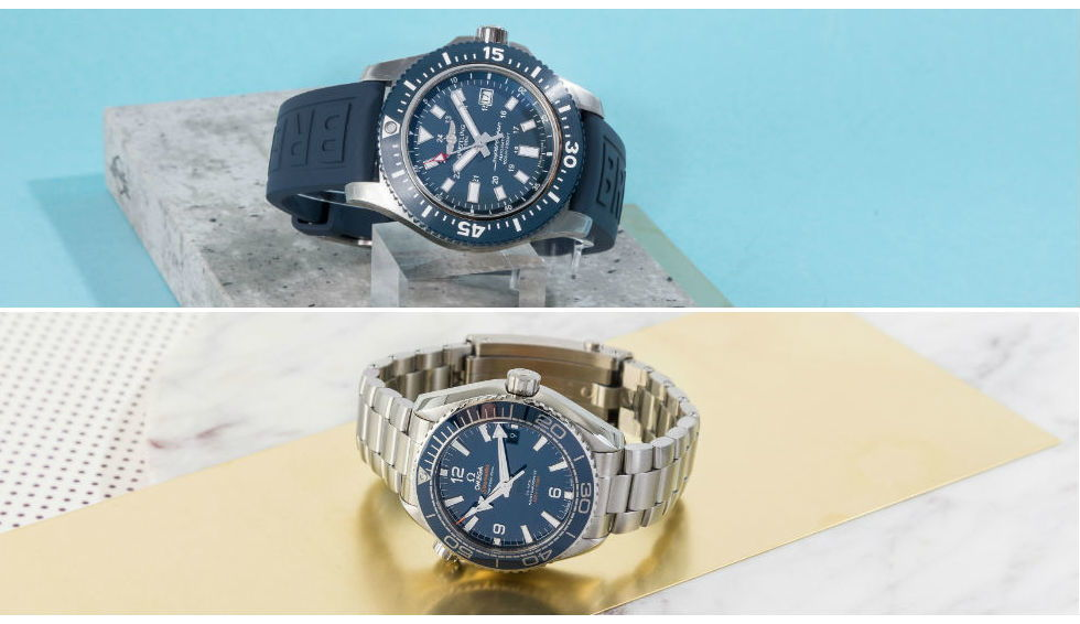 Omega Planet Ocean vs. Breitling Superocean
