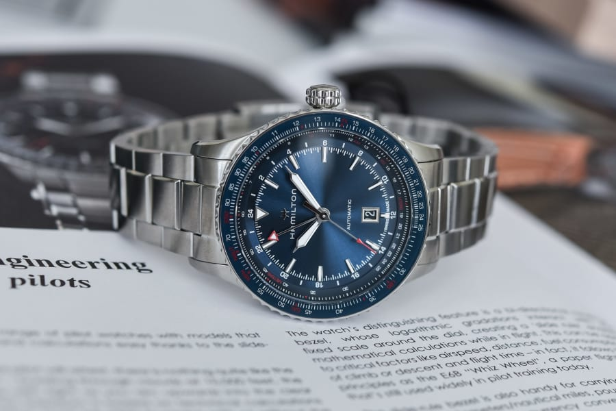 Aviation Converter GMT Blue
