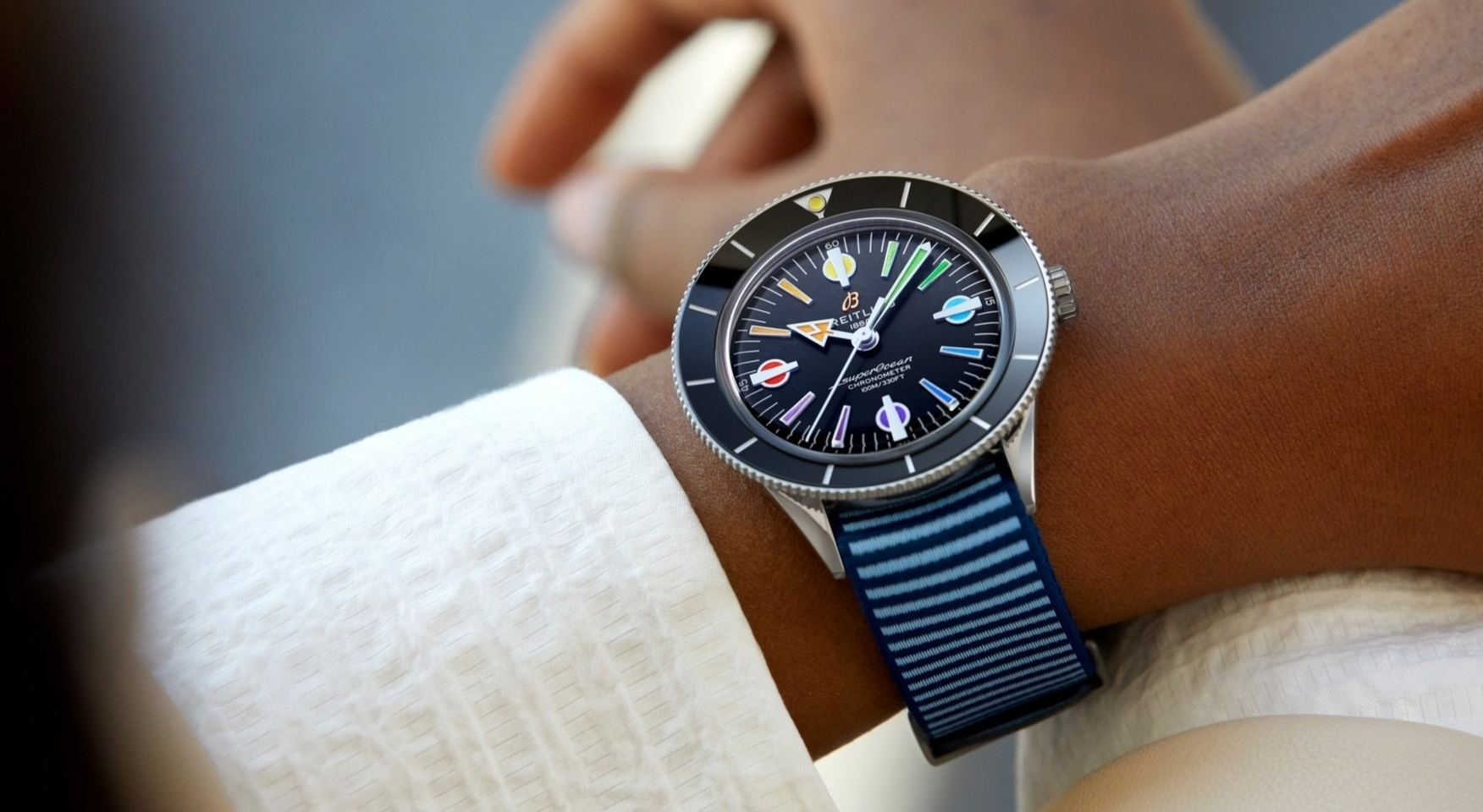 BreitlingCapsule Superocean Heritage'57: Back to the Fabulous 50s