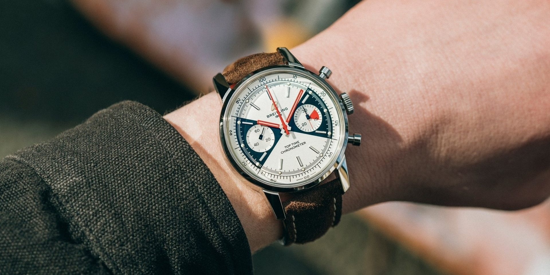 No Grey Area: Breitling Top Time Limited Edition