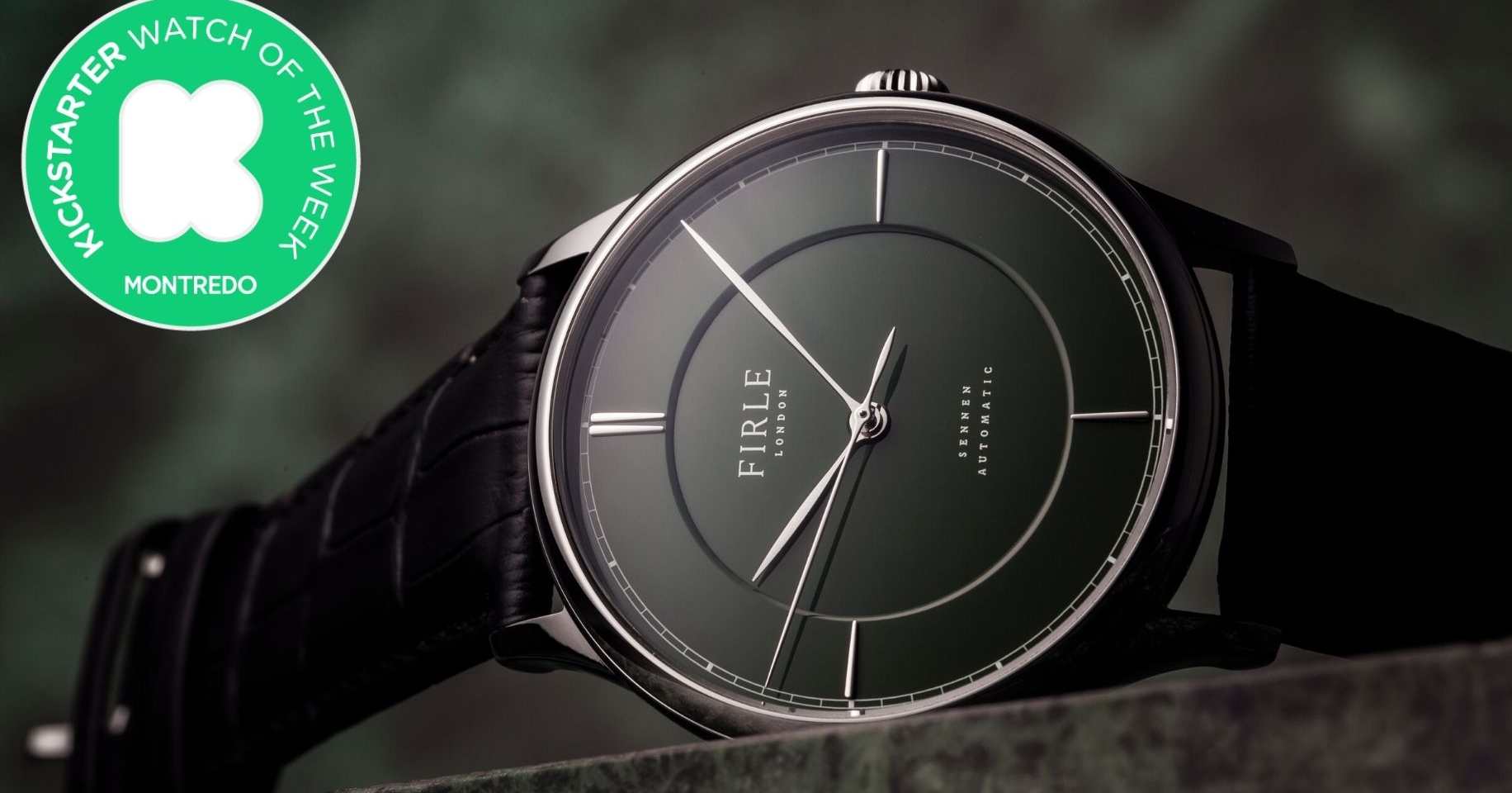 Kickstarter Watch of the Week: Firle Watches and its Sennen Automatic