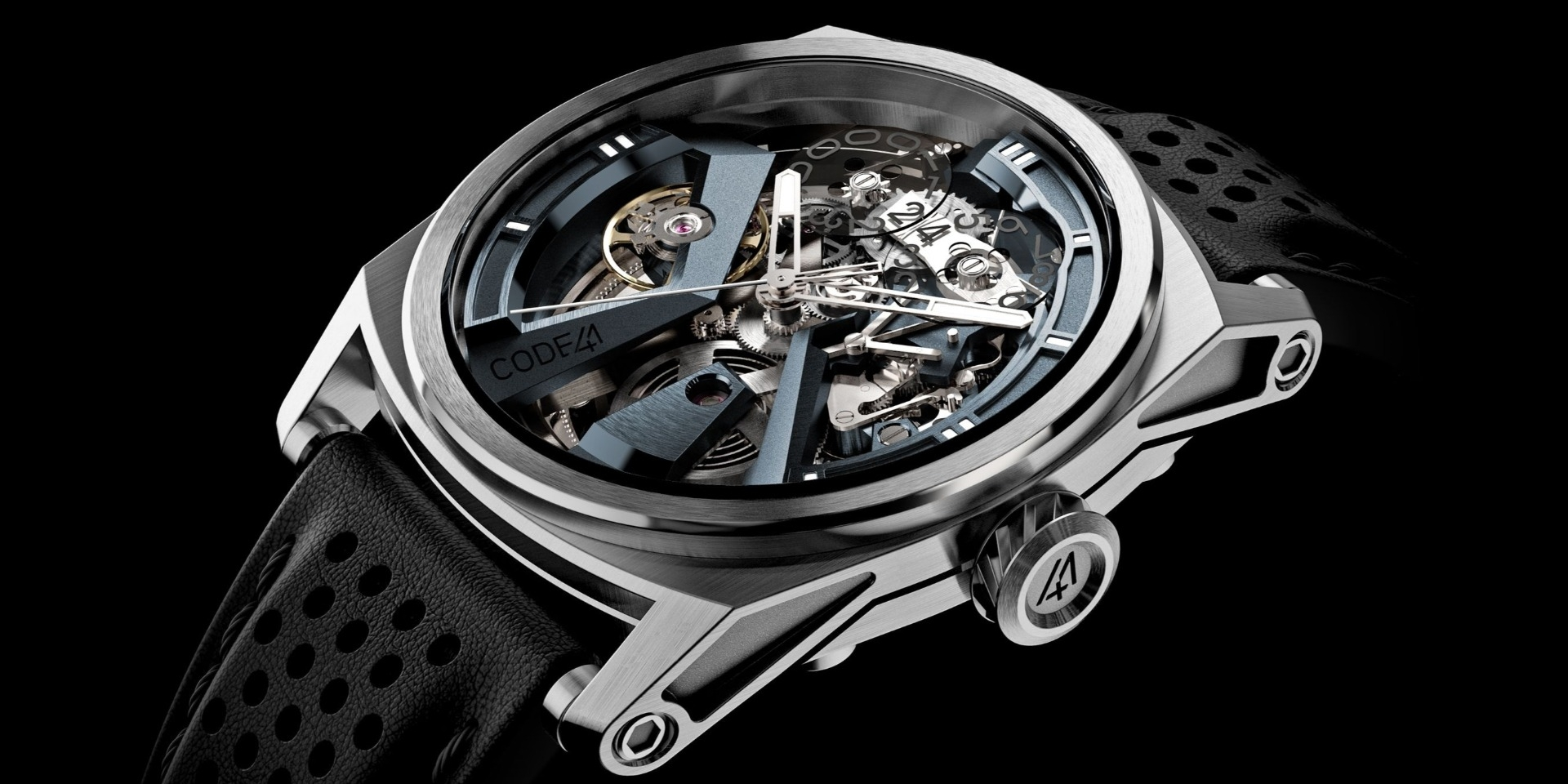 Watches from CODE41 – Haute Horlogerie for everyone?