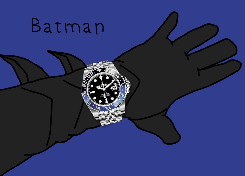 "Rolex GMT-Master II 126710BLNR ""Batman"""