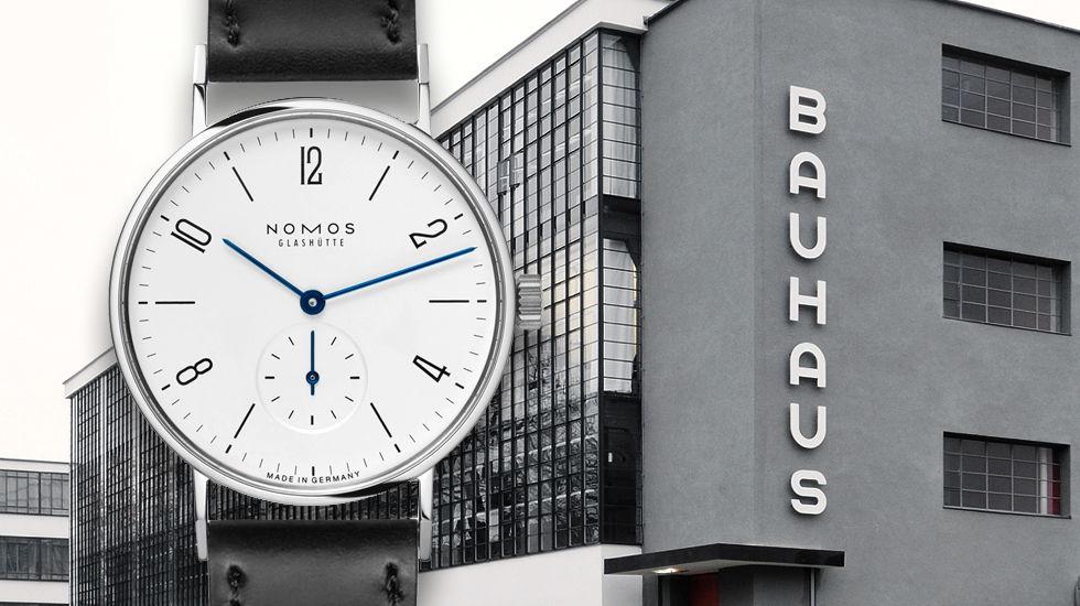 Bauhaus watches: The origin of Junghans Max Bill, Nomos Tangente & Co.