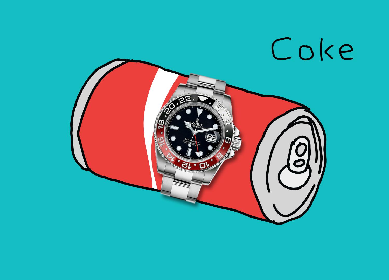 "Rolex GMT-Master II 16710 ""Coke"""