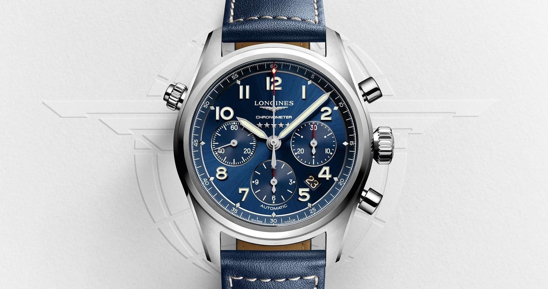 Inspired by aviation icons: Longines new Spirit collection
