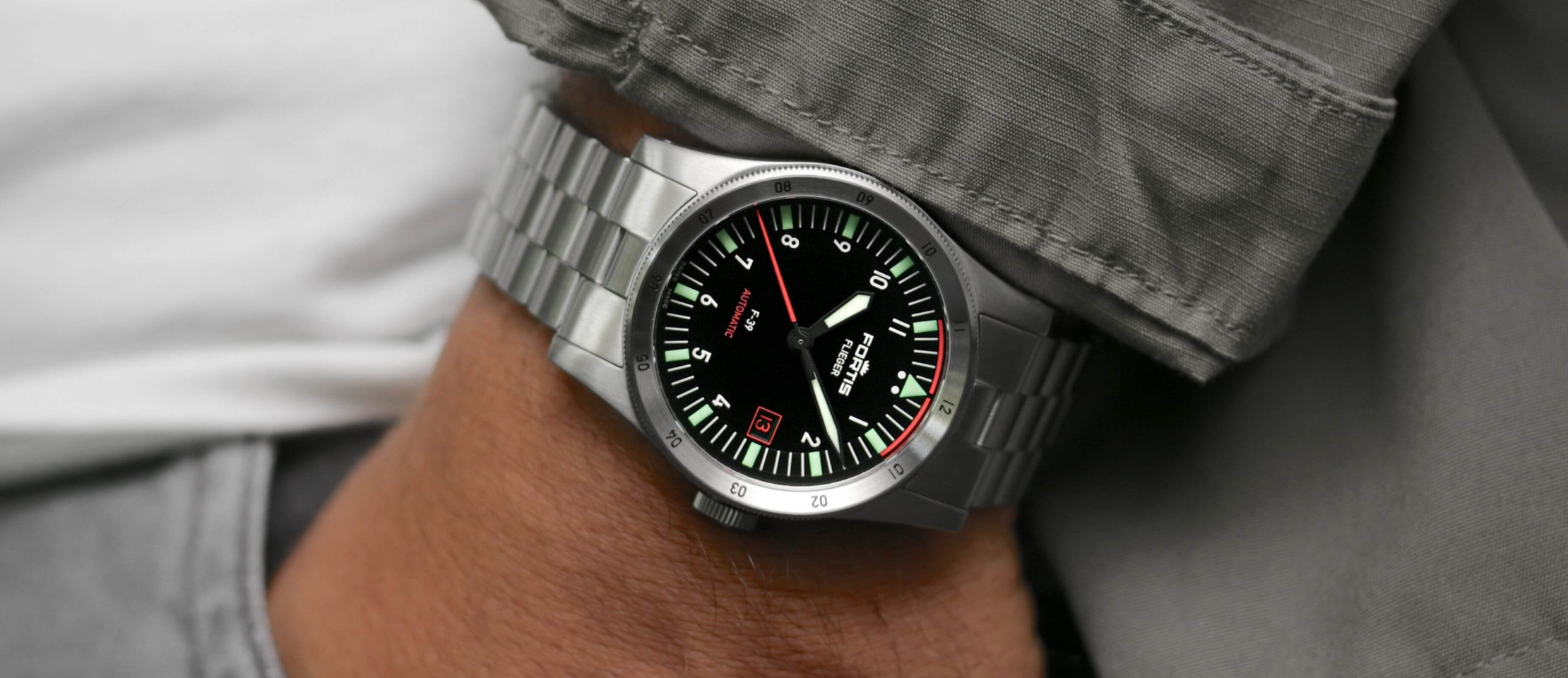 Simplicity is King: Fortis expands its Flieger collection with F-39 and F-41 models