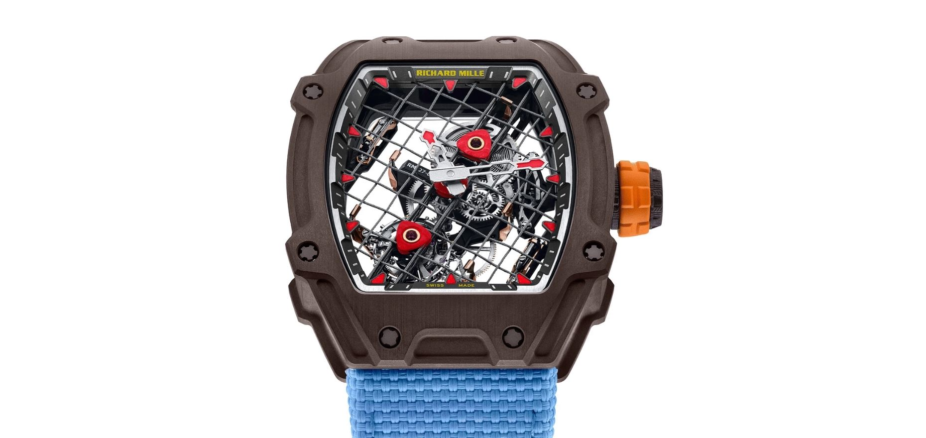 Richard Mille Rm 27 04 A New Lightweight Tourbillon For Rafael Nadal