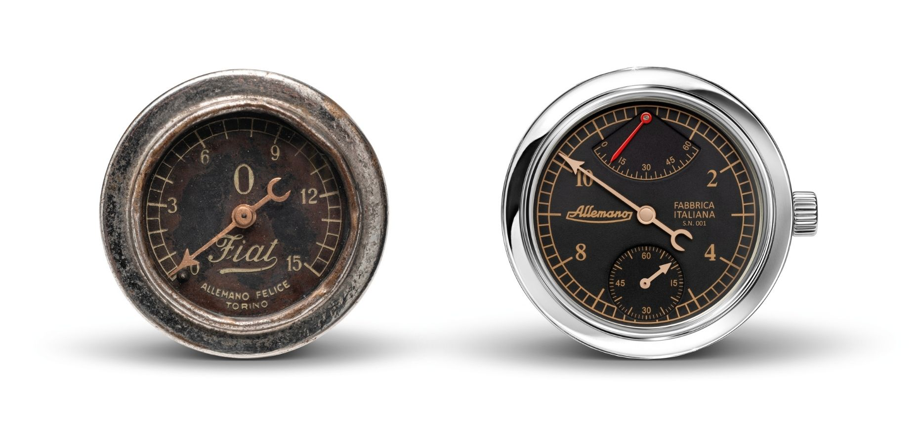 Watches from Allemano: Italian perfection down to the last detail