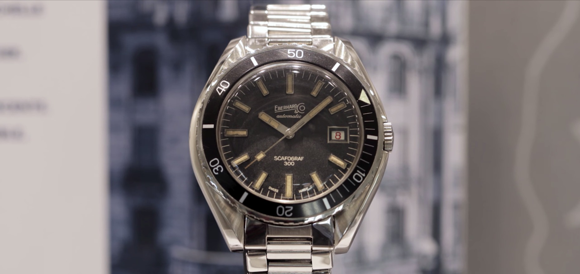 Diving watches from Eberhard & Co.: Dedicated to Tradition
