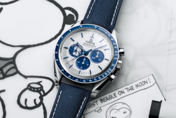 "The Story Behind Omega's Speedmaster ""Silver Snoopy Award"" 50th Anniversary"