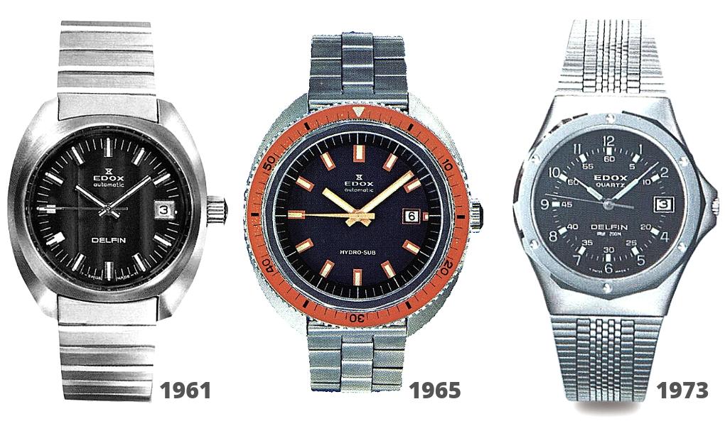 EDOX Dive Watches