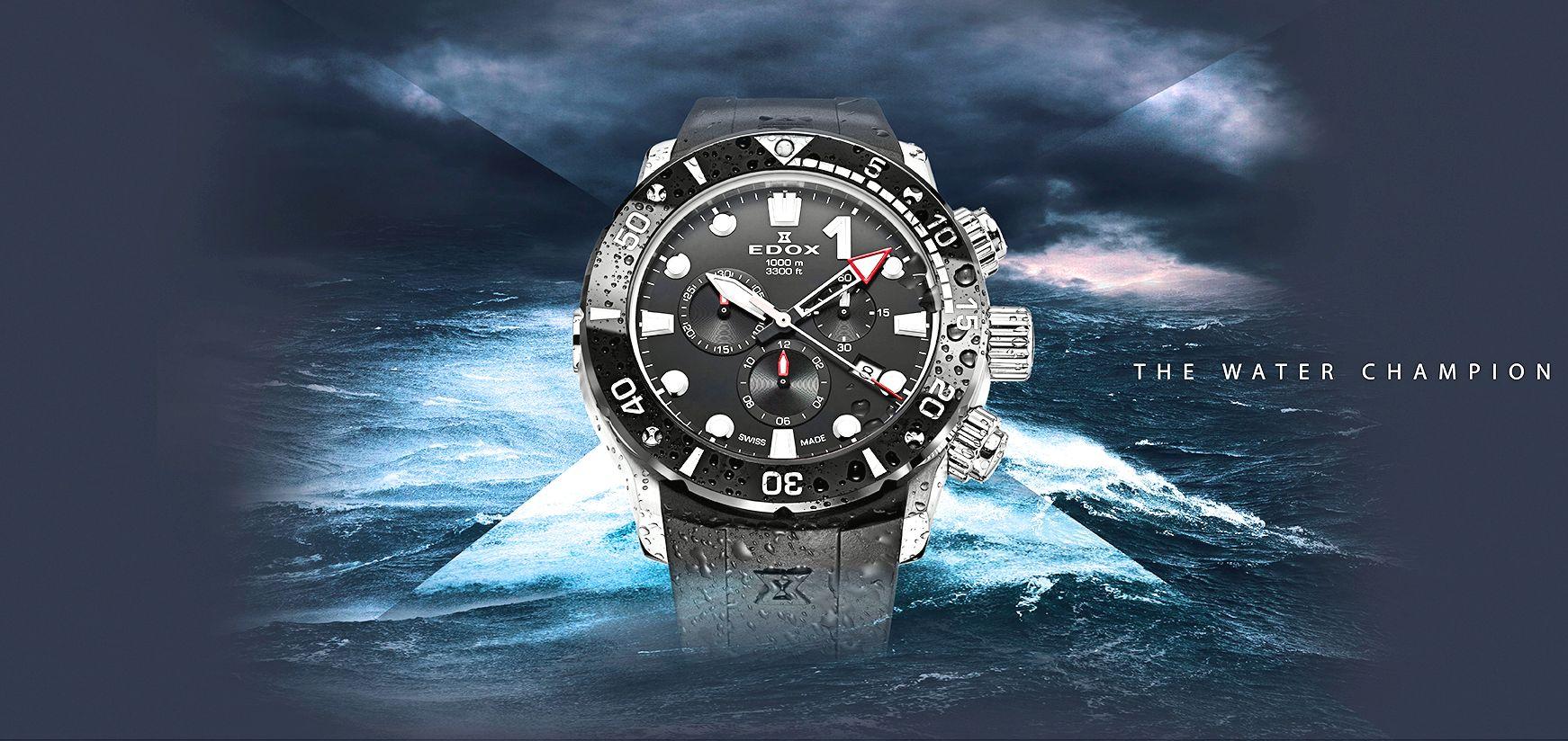 Edox – The Water Champion of fine Swiss watchmaking