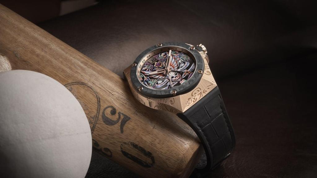 Franck Dubarry Watch Fileteado GMT 1