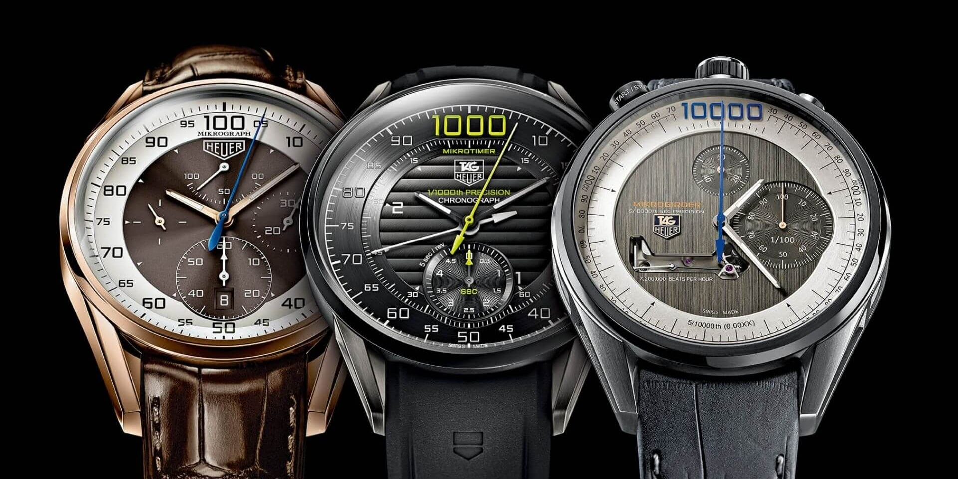 The world's fastest watches: movements with oscillating frequencies far beyond 4 Hz