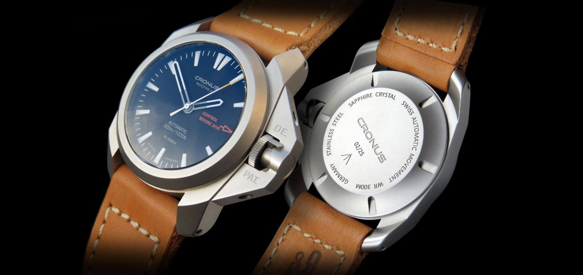"Cronus: Innovative dive watches ""Made in Germany"""