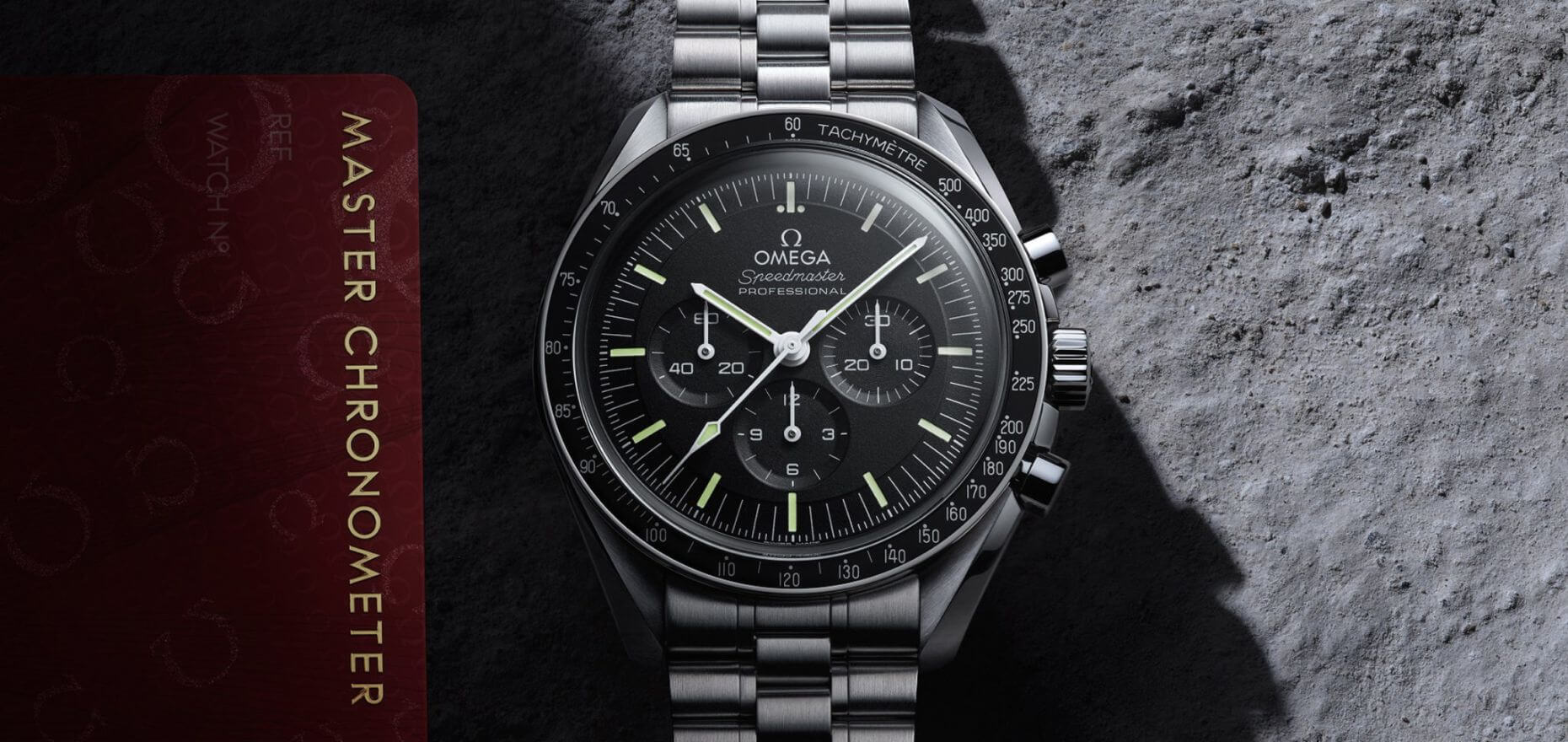 The new Omega Speedmaster Professional Moonwatch Master Chronometer: From 1861 to 3861