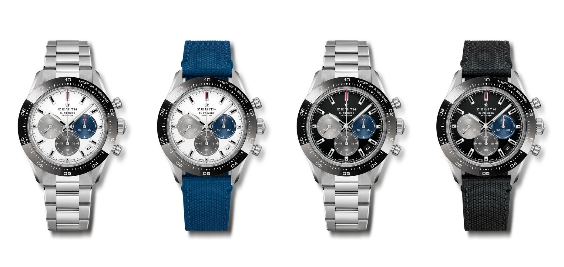 Accurate to a tenth of a second: New Zenith Chronomaster Sport with 3600 Caliber