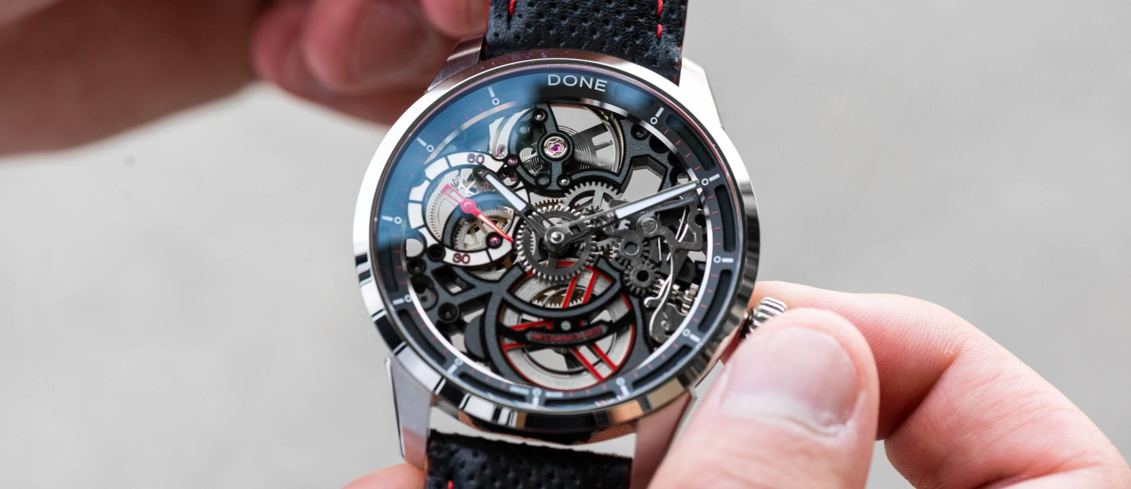 Why Skeletonzied DONE Watches Are The Perfect Choice For Mechanic Enthusiasts