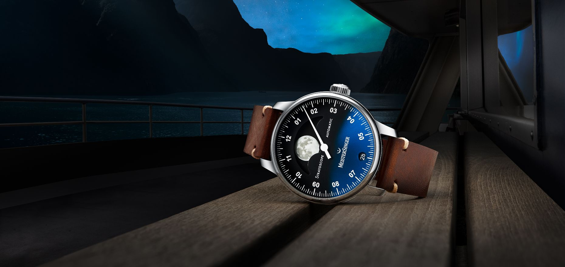 Not Your Everyday Moon Phase: The MeisterSinger Stratoscope Focuses On Precision And Luminosity