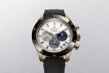 Zenith Chronomaster Sport in Rose Gold: Zenith's Chronograph Hit in a Lustrous New Gold Case