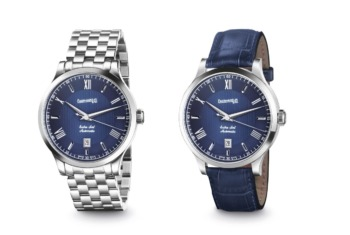 Eberhard & Co. adds another dial color to its oldest collection: Extra Fort Automatic Navy Blue
